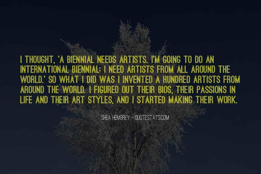 Shea Hembrey Quotes #720843