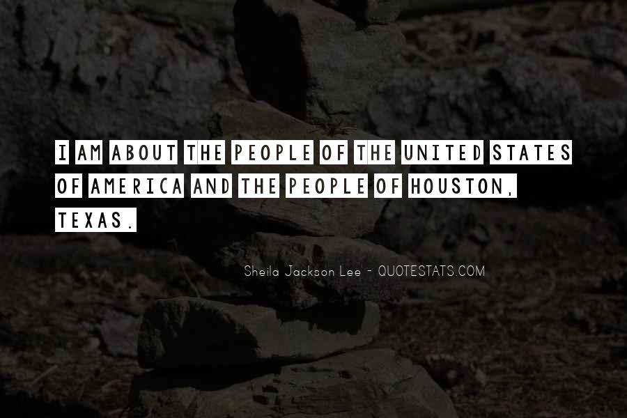 Sheila Jackson Lee Quotes #1109841