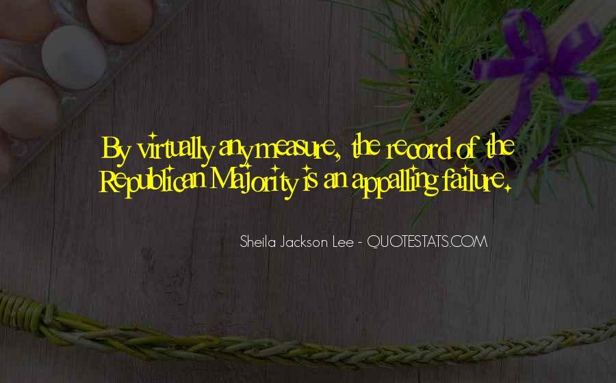 Sheila Jackson Lee Quotes #1277636