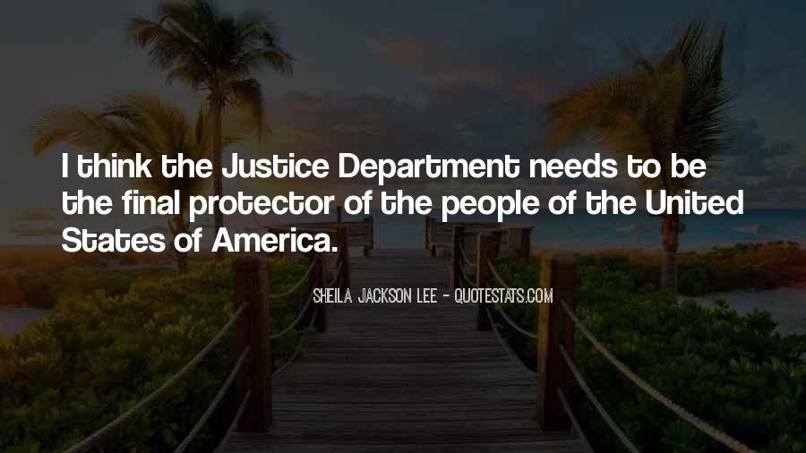 Sheila Jackson Lee Quotes #1682927