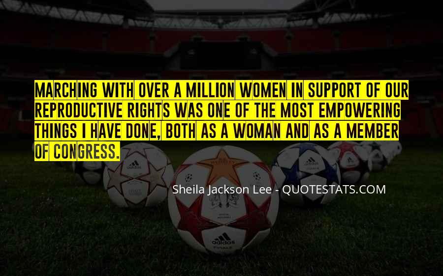 Sheila Jackson Lee Quotes #3424