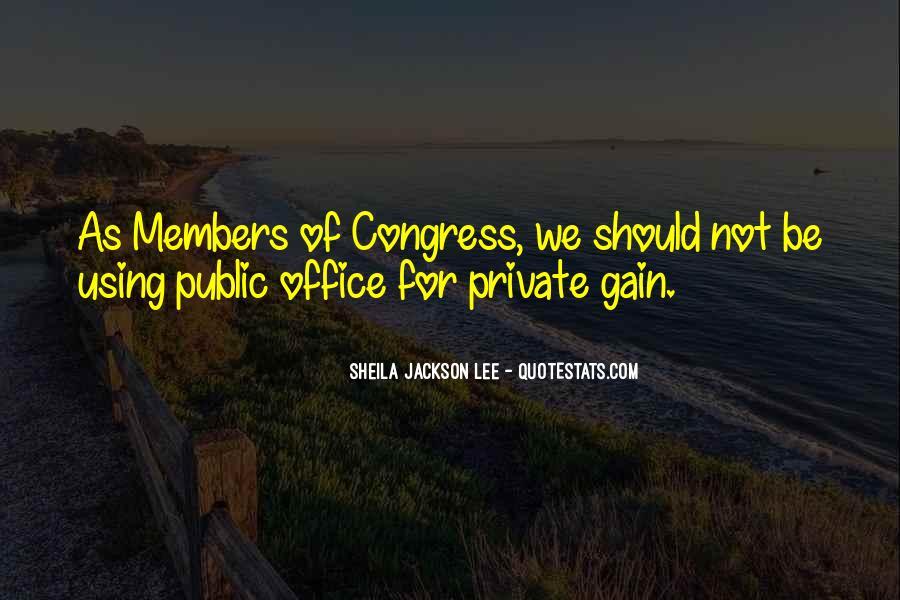 Sheila Jackson Lee Quotes #805346