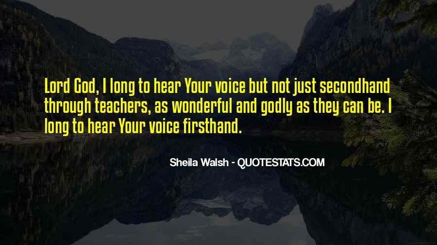 Sheila Walsh Quotes #1635138
