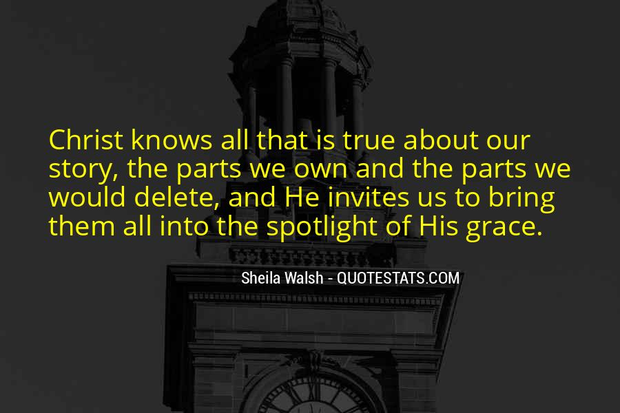 Sheila Walsh Quotes #565280