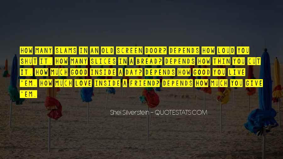 Shel Silverstein Quotes #1249871
