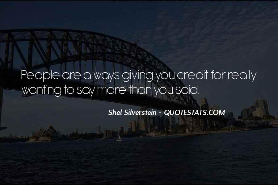 Shel Silverstein Quotes #183962
