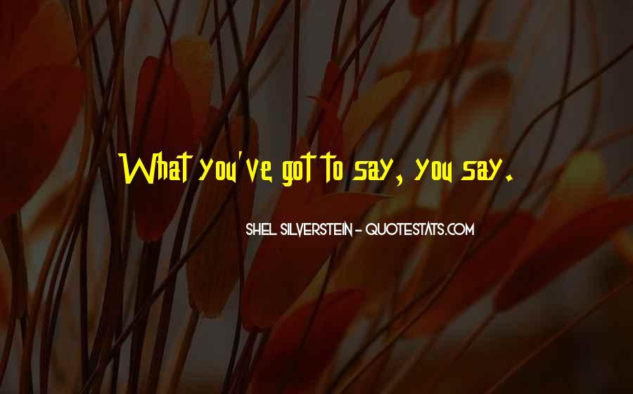 Shel Silverstein Quotes #427375