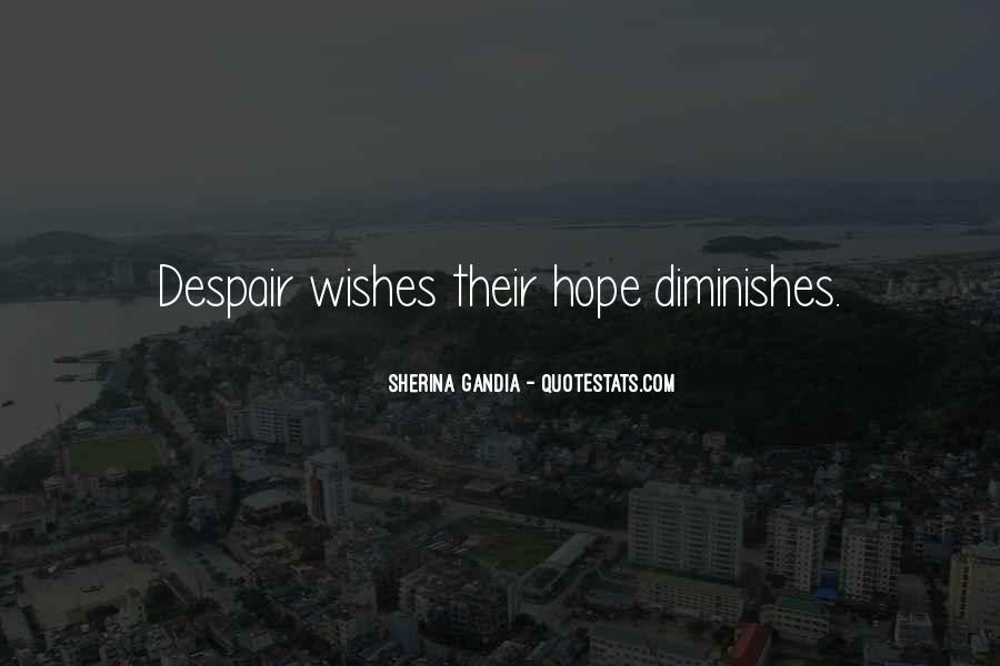 Sherina Gandia Quotes #1400243