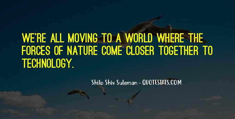 Shilo Shiv Suleman Quotes #1872502