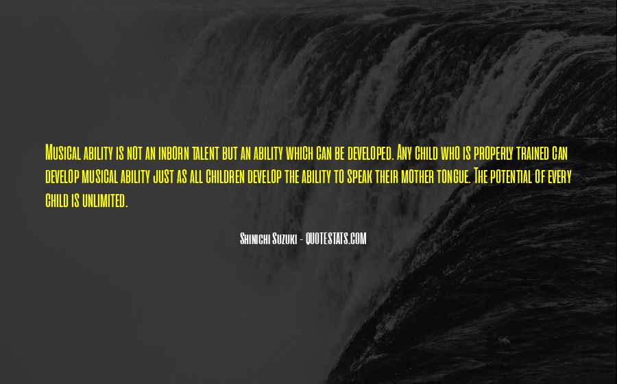 Shinichi Suzuki Quotes #1266140