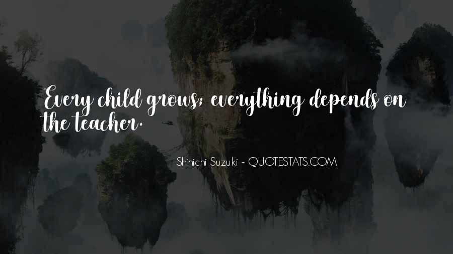 Shinichi Suzuki Quotes #611915