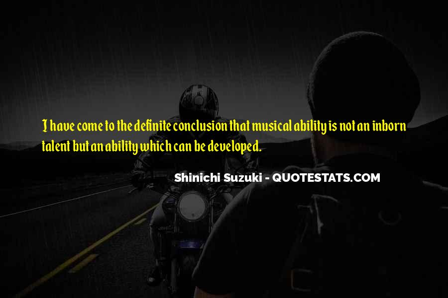 Shinichi Suzuki Quotes #901654
