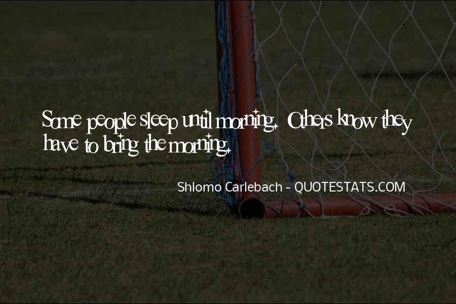 Shlomo Carlebach Quotes #406235