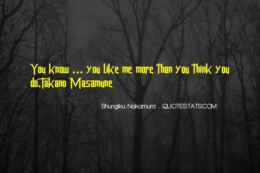Shungiku Nakamura Quotes #101640