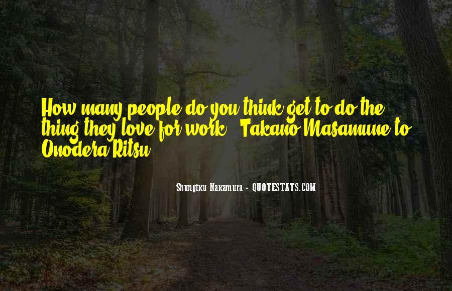 Shungiku Nakamura Quotes #1053296