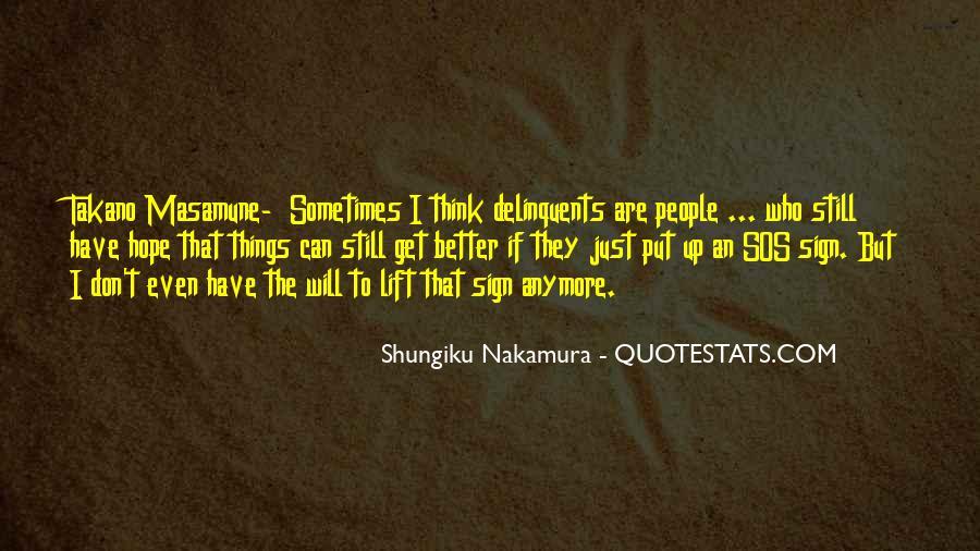 Shungiku Nakamura Quotes #1128356