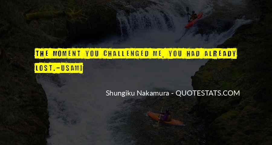 Shungiku Nakamura Quotes #1364036