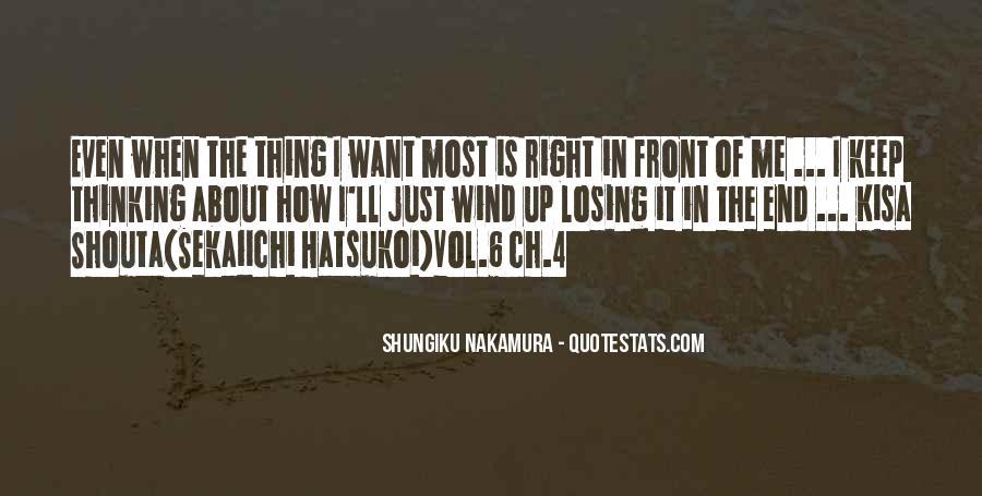 Shungiku Nakamura Quotes #1367789