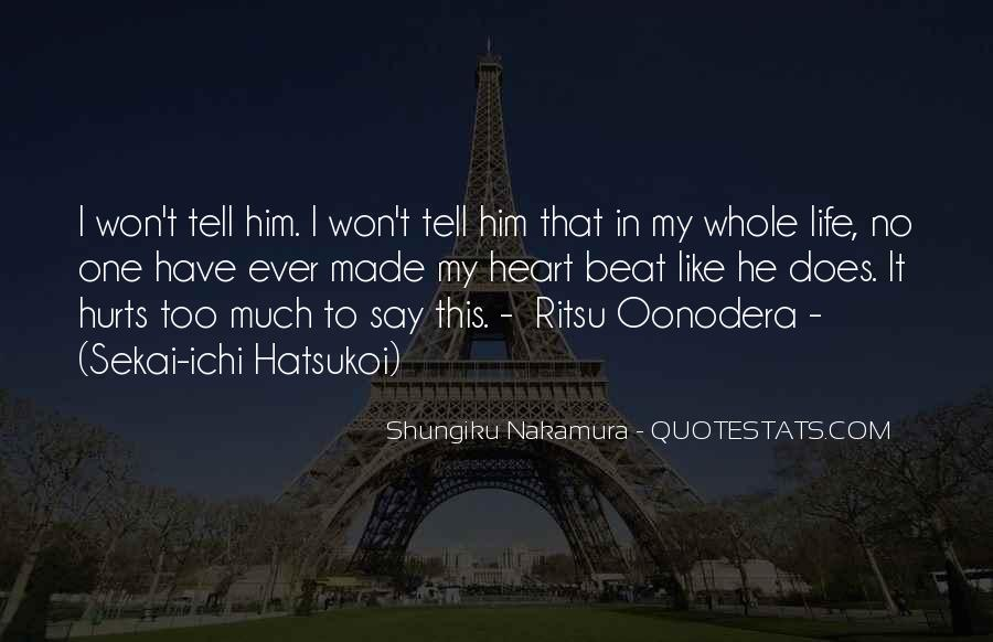 Shungiku Nakamura Quotes #1631709