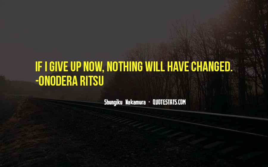 Shungiku Nakamura Quotes #685308