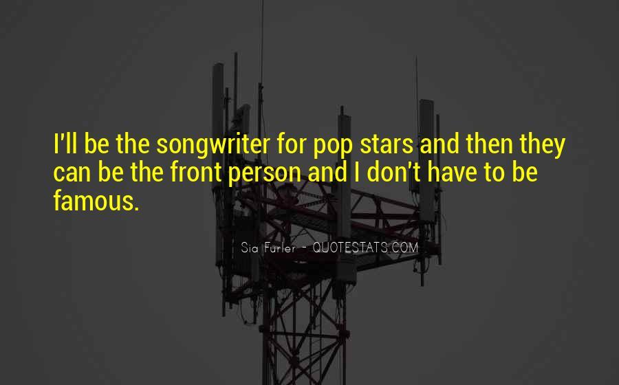 Sia Furler Quotes #1397579