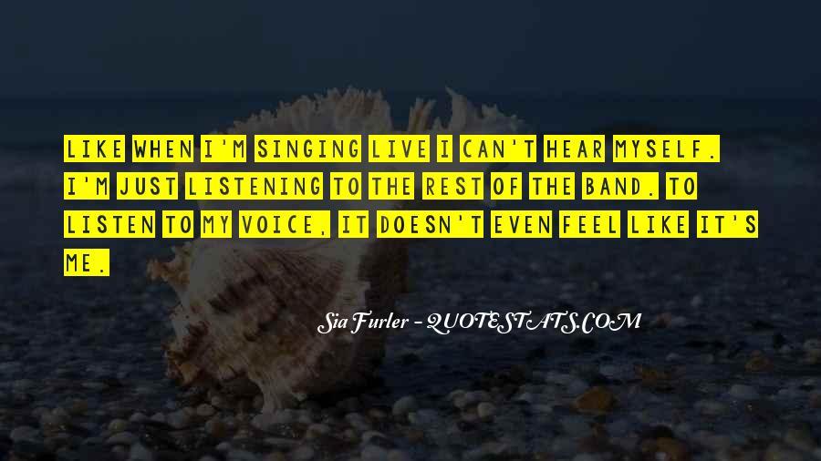 Sia Furler Quotes #1741855