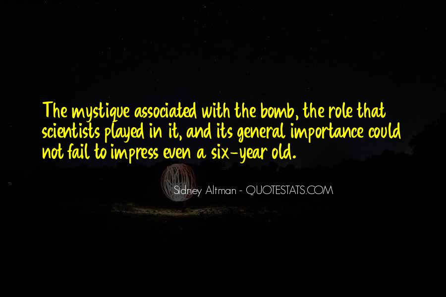 Sidney Altman Quotes #213332