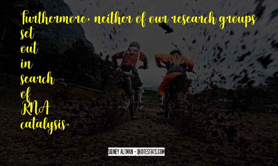 Sidney Altman Quotes #464744