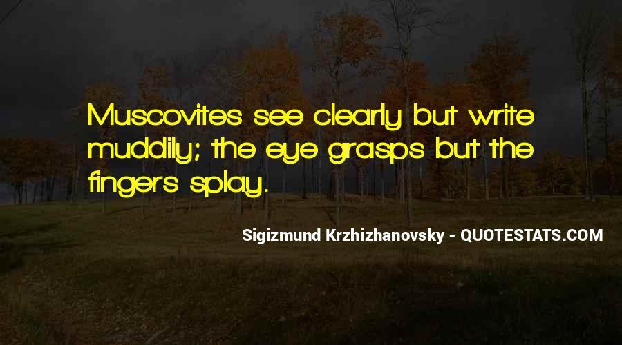 Sigizmund Krzhizhanovsky Quotes #1465560