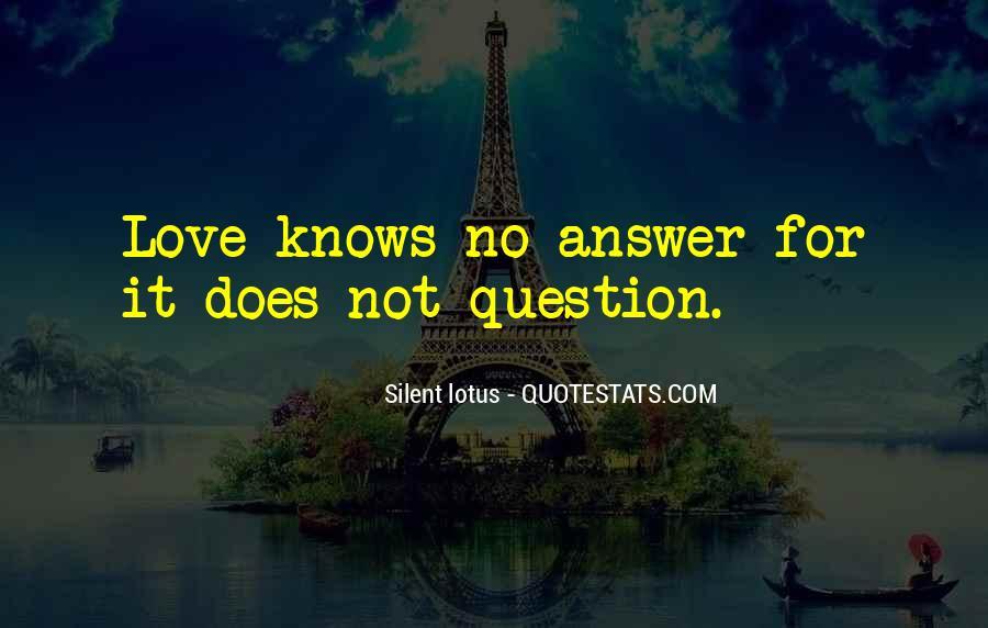 Silent Lotus Quotes #579743