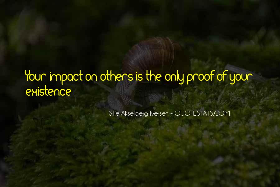 Silje Akselberg Iversen Quotes #985755
