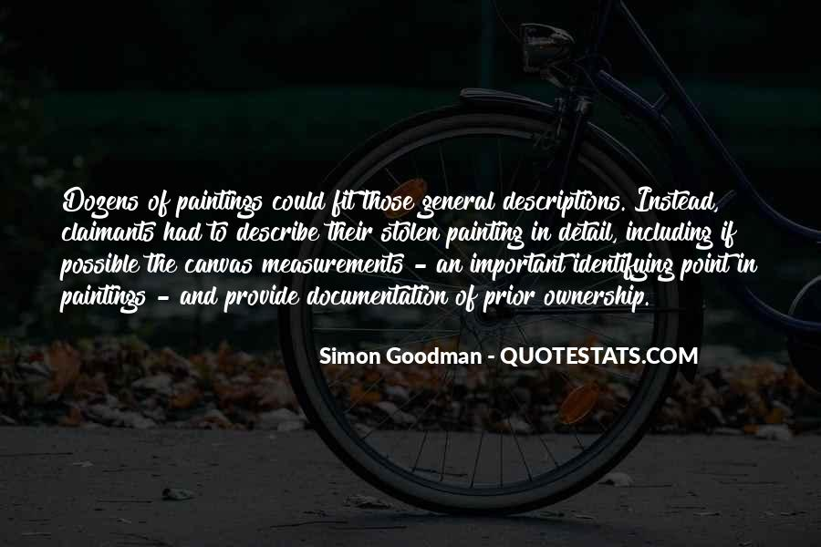 Simon Goodman Quotes #583839