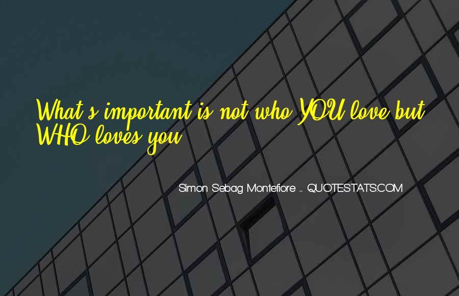 Simon Sebag Montefiore Quotes #1087325