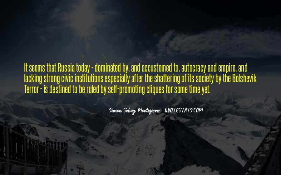 Simon Sebag Montefiore Quotes #65317