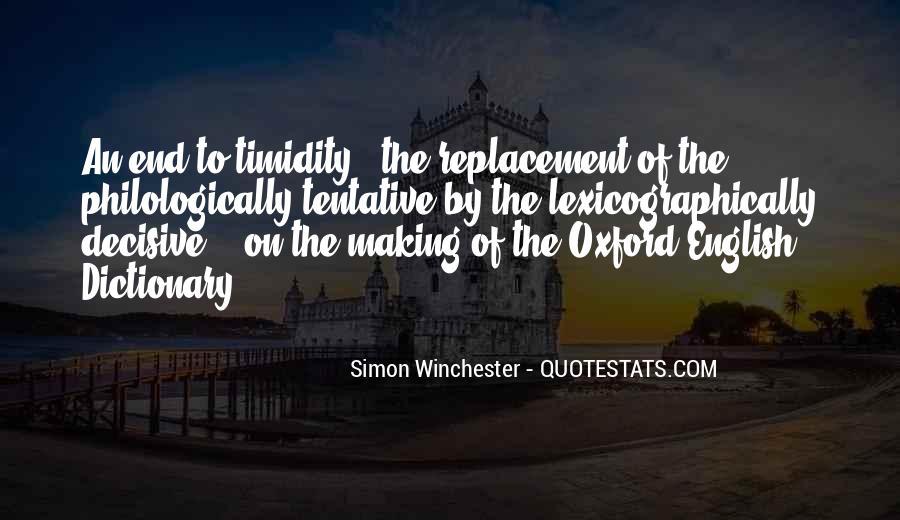 Simon Winchester Quotes #222338