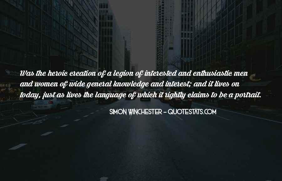 Simon Winchester Quotes #518230