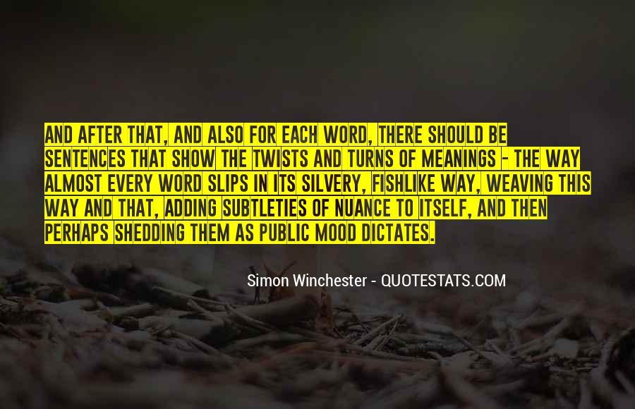 Simon Winchester Quotes #524897