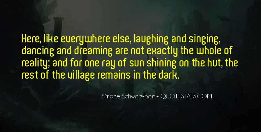 Simone Schwarz-Bart Quotes #978733