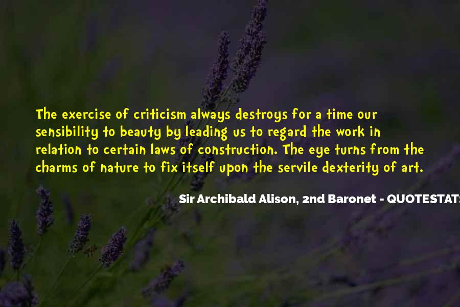 Sir Archibald Alison, 2nd Baronet Quotes #419624