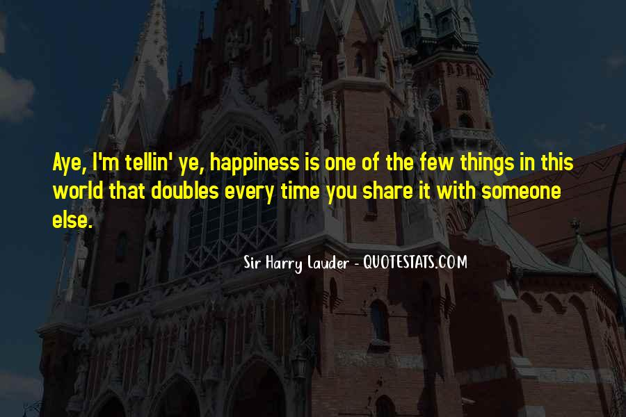 Sir Harry Lauder Quotes #908555