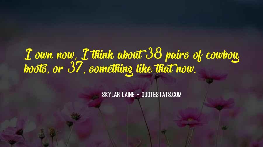 Skylar Laine Quotes #107327