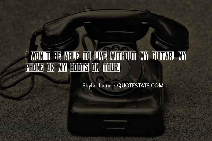 Skylar Laine Quotes #85622