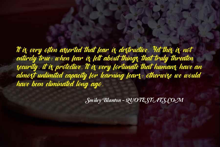 Smiley Blanton Quotes #1109259