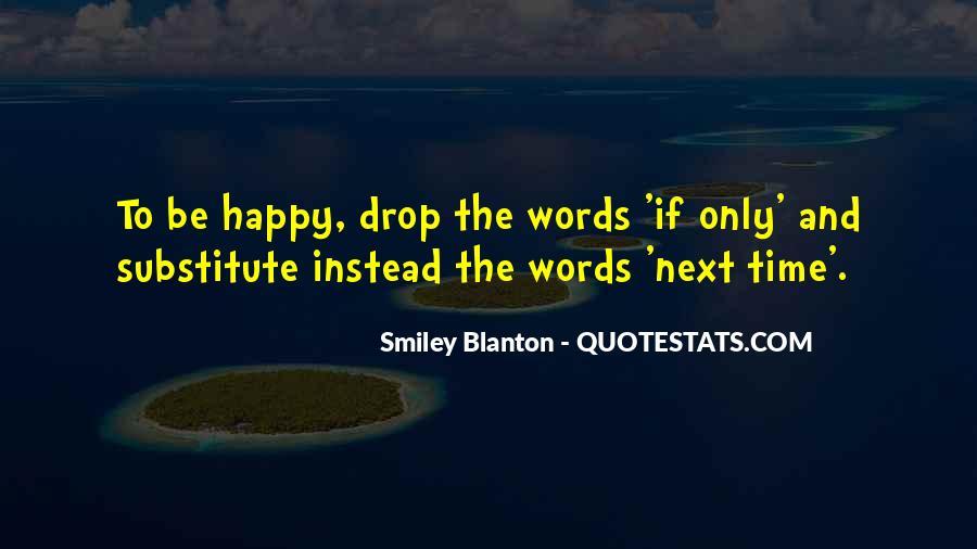 Smiley Blanton Quotes #22441