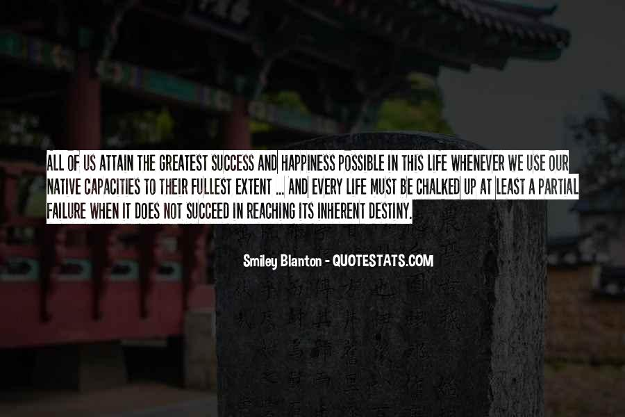 Smiley Blanton Quotes #447664