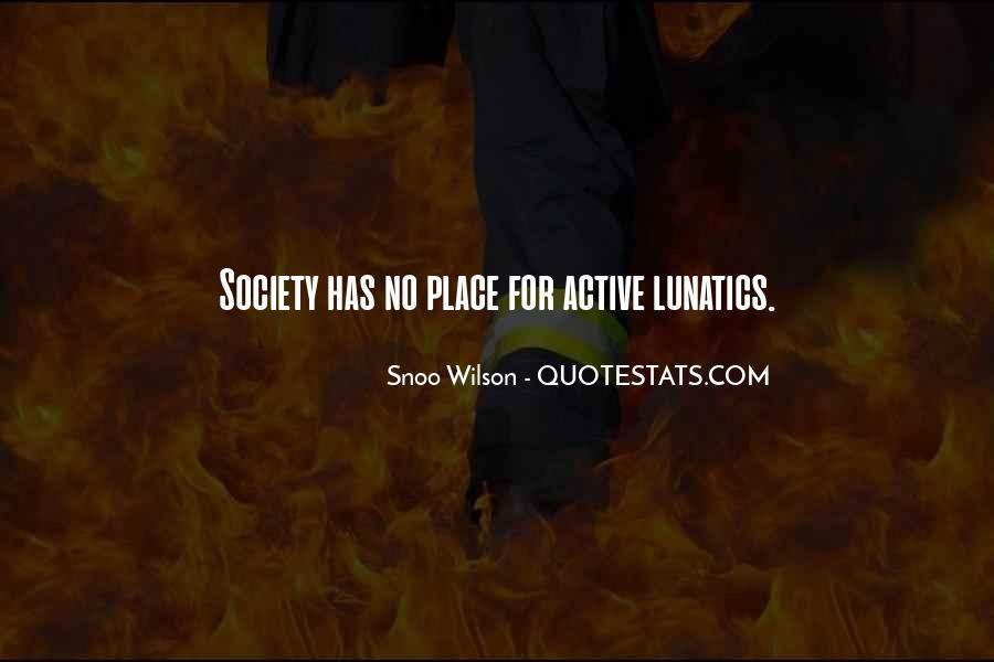 Snoo Wilson Quotes #244545