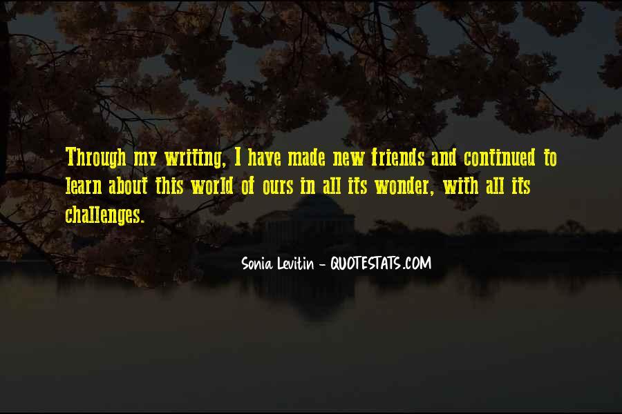 Sonia Levitin Quotes #1471050