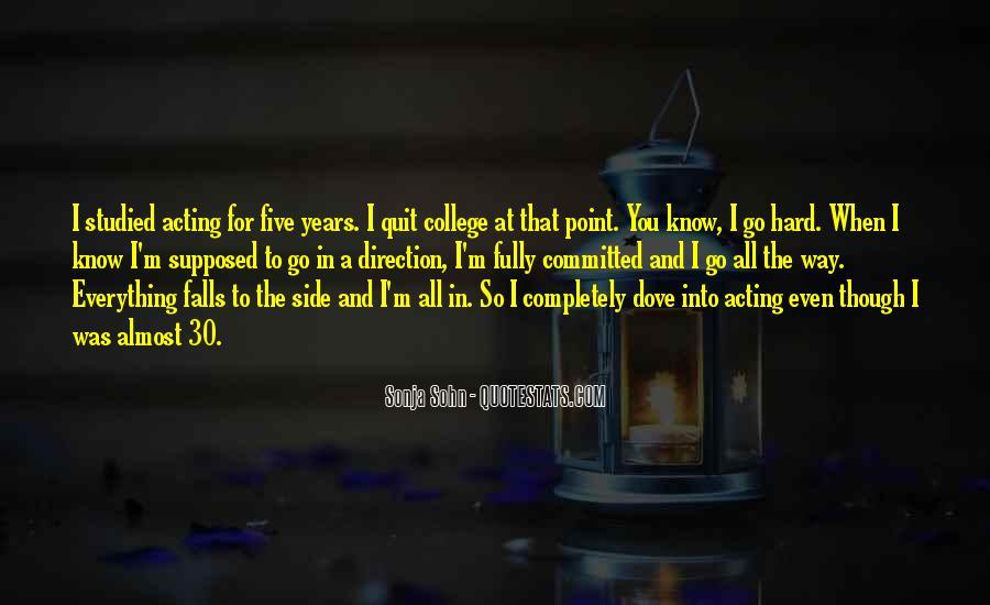 Sonja Sohn Quotes #681274