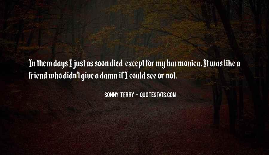 Sonny Terry Quotes #264268