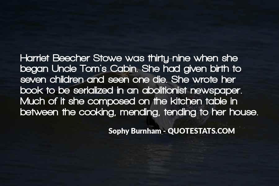 Sophy Burnham Quotes #1144681